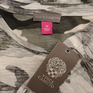 Women's Vince Camuto 2x Camo Dress
